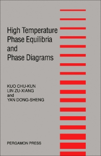 High Temperature Phase Equilibria and Phase Diagrams - 1st Edition - ISBN: 9780080358925, 9781483286730