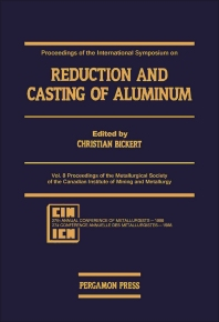 Cover image for Proceedings of the International Symposium on Reduction and Casting of Aluminum