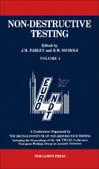 Non-Destructive Testing - 1st Edition - ISBN: 9780080362212, 9781483146720