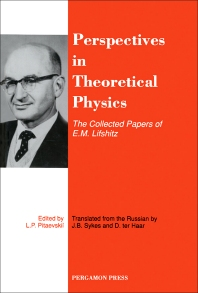 Perspectives in Theoretical Physics - 1st Edition - ISBN: 9780080363646, 9780080984711