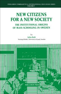Cover image for New Citizens for a New Society