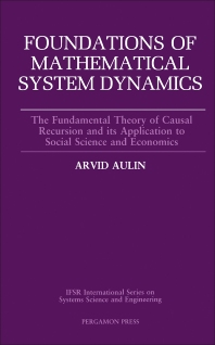 Foundations of Mathematical System Dynamics - 1st Edition - ISBN: 9780080369648, 9781483286976