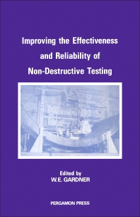 Cover image for Improving the Effectiveness and Reliability of Non-Destructive Testing