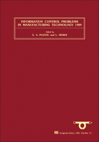 Cover image for Information Control Problems in Manufacturing Technology 1989