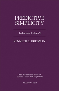 Cover image for Predictive Simplicity