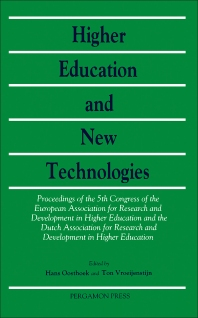 Higher Education and New Technologies - 1st Edition - ISBN: 9780080372617, 9781483287102