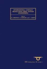 Cover image for International Conflict Resolution Using System Engineering (SWIIS)
