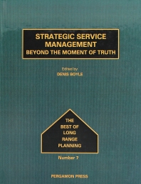 Strategic Service Management, 1st Edition,D. Boyle,ISBN9780080377520