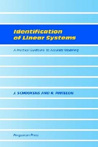 Identification of Linear Systems, 1st Edition,J. Schoukens,R. Pintelon,ISBN9780080407340