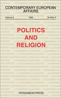 Politics and Religion - 1st Edition - ISBN: 9780080407944, 9781483293066