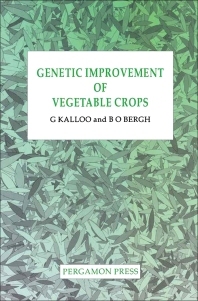 Genetic Improvement of Vegetable Crops - 1st Edition - ISBN: 9780080408262, 9780080984667