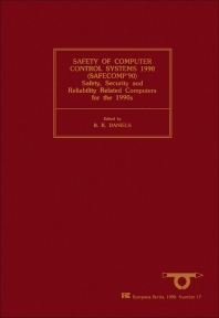 Cover image for Safety of Computer Control Systems 1990 (SAFECOMP'90)