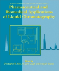 Cover image for Pharmaceutical and Biomedical Applications of Liquid Chromatography
