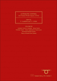 Automatic Control 1990 - 1st Edition - ISBN: 9780080412634, 9781483297460