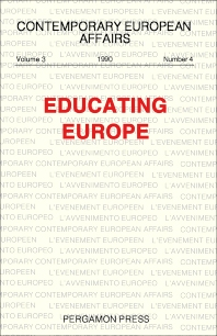 Cover image for Educating Europe