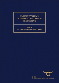 Cover image for Expert Systems in Mineral and Metal Processing