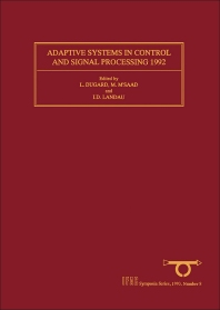 Cover image for Adaptive Systems in Control and Signal Processing 1992
