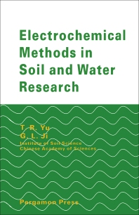Cover image for Electrochemical Methods in Soil and Water Research
