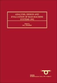 Cover image for Analysis, Design and Evaluation of Man-Machine Systems 1992
