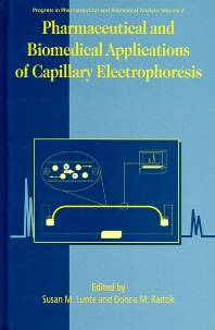 Cover image for Pharmaceutical and Biomedical Applications of Capillary Electrophoresis