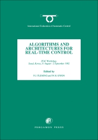 Cover image for Algorithms and Architectures for Real-Time Control 1992