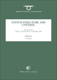 Cover image for System Structure and Control 1992