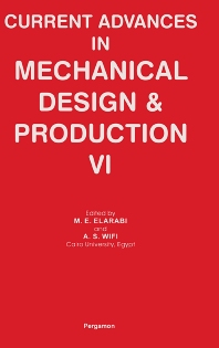 Cover image for Current Advances in Mechanical Design and Production VI