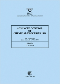 Cover image for Advanced Control of Chemical Processes 1994