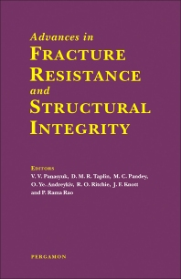 Cover image for Advances in Fracture Resistance and Structural Integrity