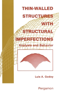 Cover image for Thin-Walled Structures with Structural Imperfections