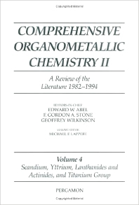 Comprehensive Organometallic Chemistry II, Volume 4 - 1st Edition - ISBN: 9780080423111, 9780080912677