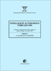 Cover image for Intelligent Autonomous Vehicles 1995