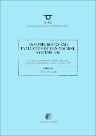 Cover image for Analysis, Design and Evaluation of Man-Machine Systems 1995