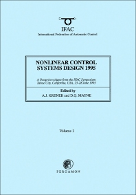 Cover image for Nonlinear Control Systems Design 1995