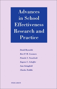 Advances in School Effectiveness Research and Practice - 1st Edition - ISBN: 9780080423920, 9781483294315