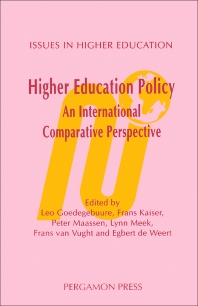 Cover image for Higher Education Policy: An International Comparative Perspective