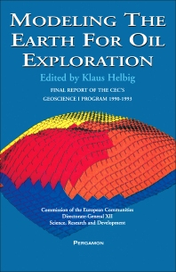 Modeling The Earth For Oil Exploration - 1st Edition - ISBN: 9780080424194, 9781483287935