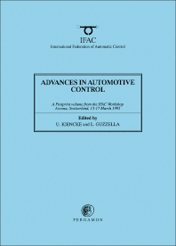 Advances in Automotive Control 1995 - 1st Edition - ISBN: 9780080425894, 9781483296944