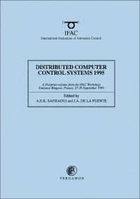 Cover image for Distributed Computer Control Systems 1995