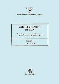 Cover image for Robust Control Design 1997