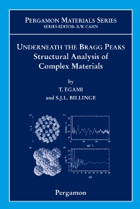 Cover image for Underneath the Bragg Peaks
