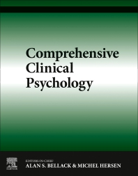 Comprehensive Clinical Psychology - 1st Edition - ISBN: 9780080427072, 9780080547718