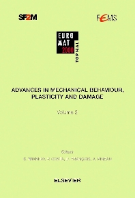 Cover image for Advances in Mechanical Behaviour, Plasticity and Damage