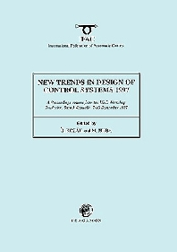 New Trends in Design of Control Systems 1997