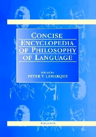 Cover image for Concise Encyclopedia of Philosophy of Language