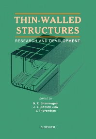 Thin-Walled Structures - 1st Edition - ISBN: 9780080430034, 9780080552057