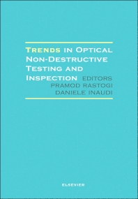 Cover image for Trends in Optical Non-Destructive Testing and Inspection