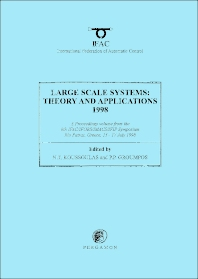 Cover image for Large Scale Systems: Theory and Applications 1998
