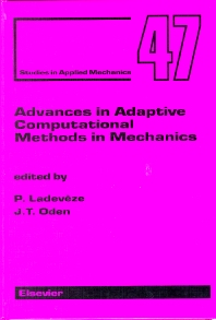 Cover image for Advances in Adaptive Computational Methods in Mechanics