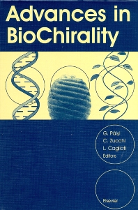 Cover image for Advances in BioChirality